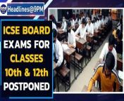 The ICSE board exams for Classes 10 and 12 have been postponed amid the surge in COVID-19 cases across the country. Prime Minister Narendra Modi was today briefed about the efforts being made by the government to import medical grade oxygen. Scam-accused billionaire Nirav Modi's extradition to India has been cleared by the British government. UK Home Secretary Priti Patel signed the extradition order on Thursday. Karnataka Chief Minister BS Yediyurappa tested positive for Covid-19 on Friday. Tamil Actor Vivekh is still in critical condition and will be observed closely for the next 48 years at the SIMS Hospital in Vadapalani.<br/><br/>#ICSEBoardsPostponed #NiravModi #KumbhMela